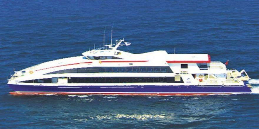 Sinop-İstanbul arası deniz otobüsü seferi