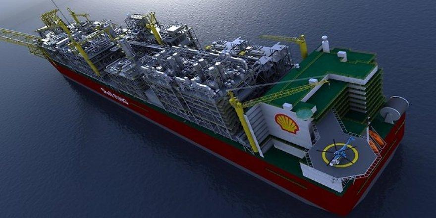 Shell, yüzer LNG tesisinden ilk kargosunu gönderdi