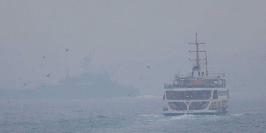 İstanbul Boğazı deniz trafiğine kapatıldı