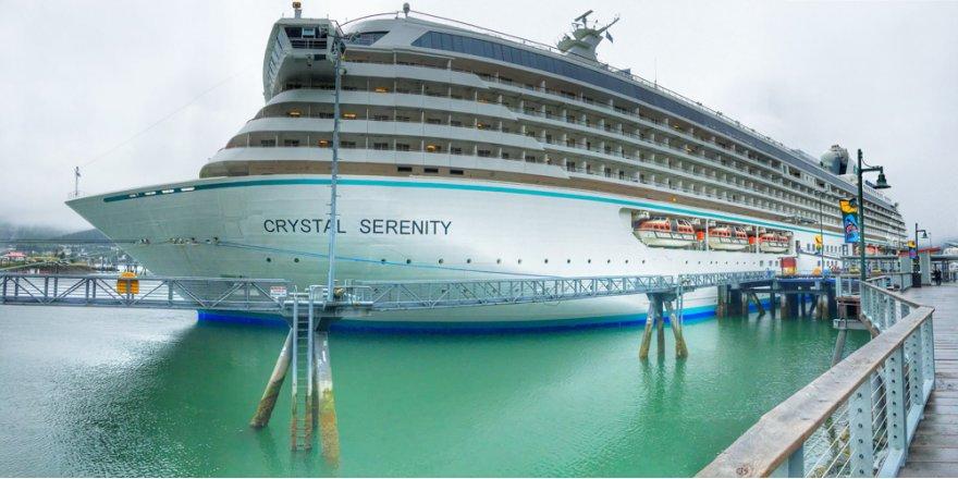 Crystal Cruises'de plastik yasaklandı