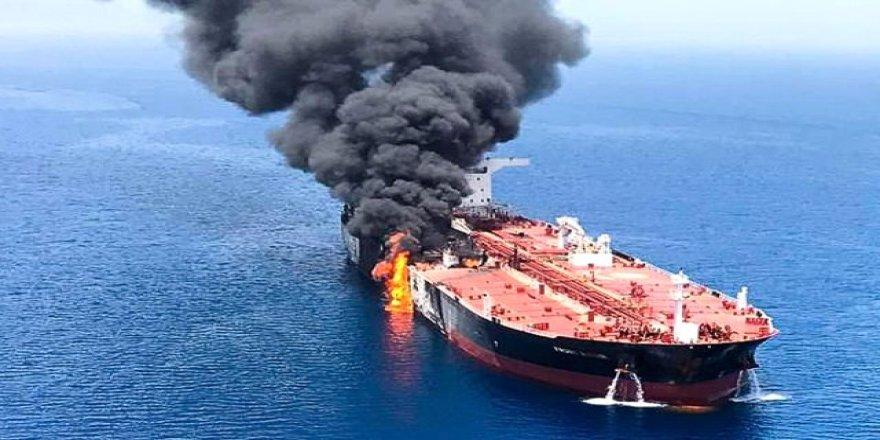 'Tankerlerdeki patlamalar yangın kaynaklı olabilir'