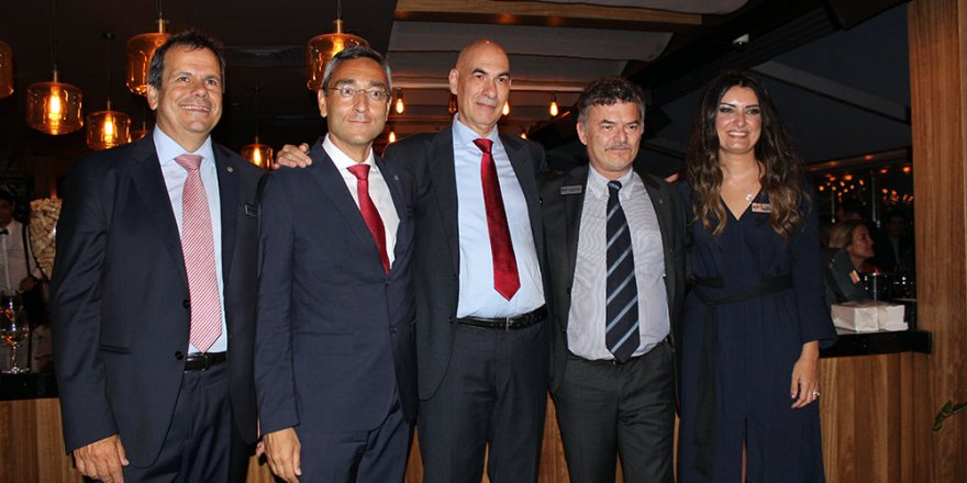 Rina Türkiye Direktörü Massimo Sanqueri'e veda