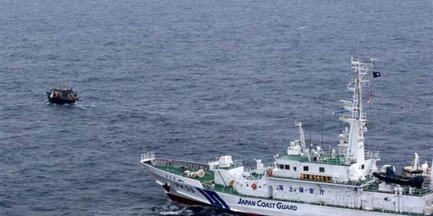Japonya'dan Kim'in balıkçı teknelerine müdahale