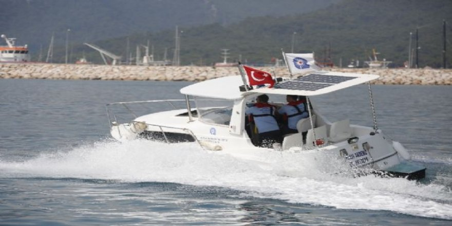 Antalya'da denizi kirletene af yok