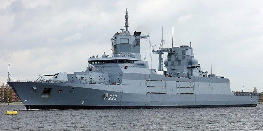 F125 firkateyni Alman Donanmasına teslim edildi