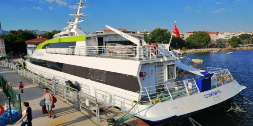 Erdek'ten Avşa ve Marmara'ya sefer