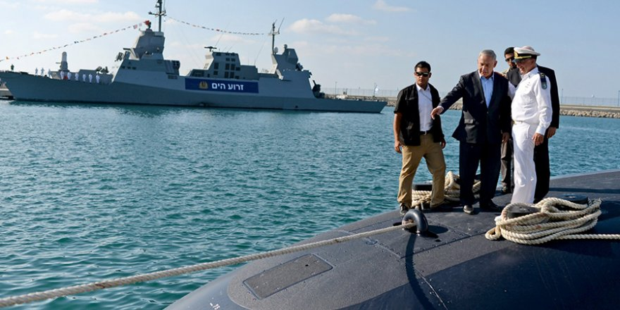 İsrail denizaltısı 7/24 İran'ı gözetliyor