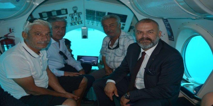 Denizaltı Nemo ile derinliklere 'Çetin' bir dalış
