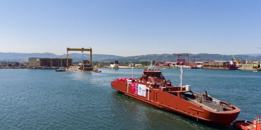 Cemre'den çevreci gemi