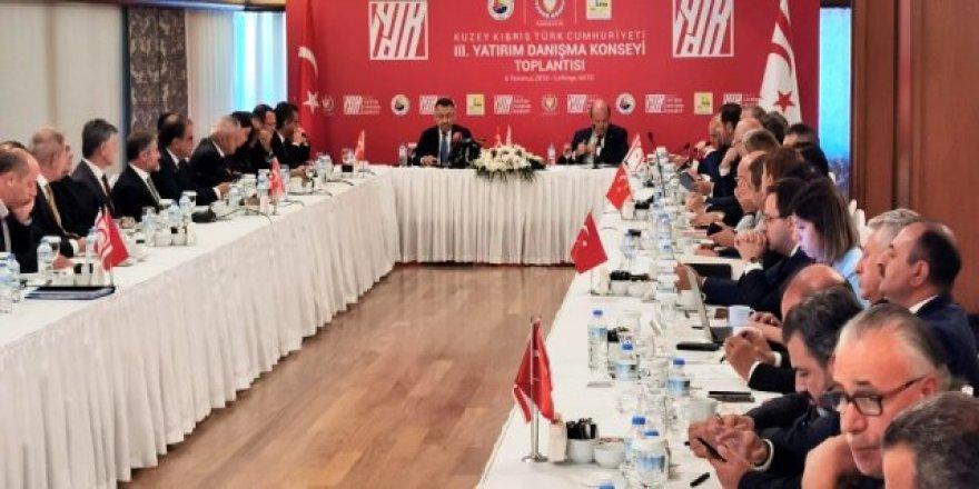 KKTC III. Yatırım Dayanışma Konseyi toplantısı