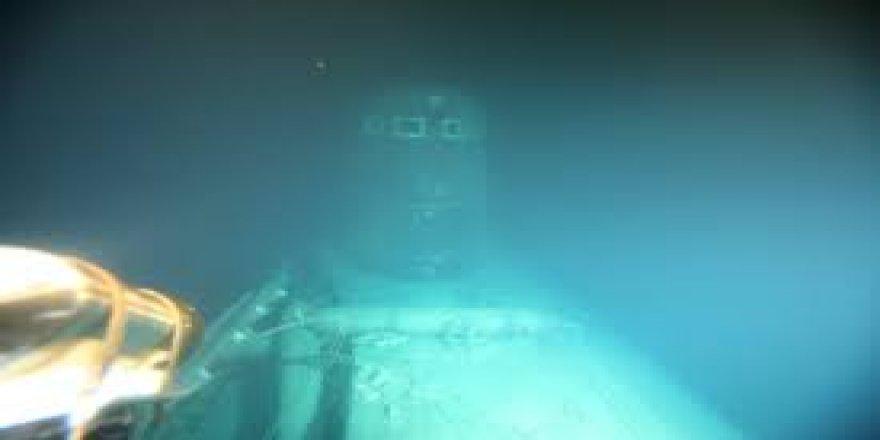 Batan Sovyet denizaltısı radyasyon yayıyor