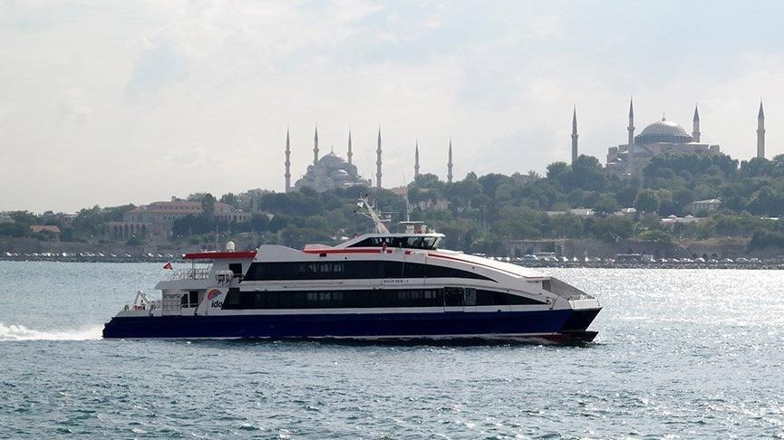 Burgaz-İstanbul arası 3 saate iniyor