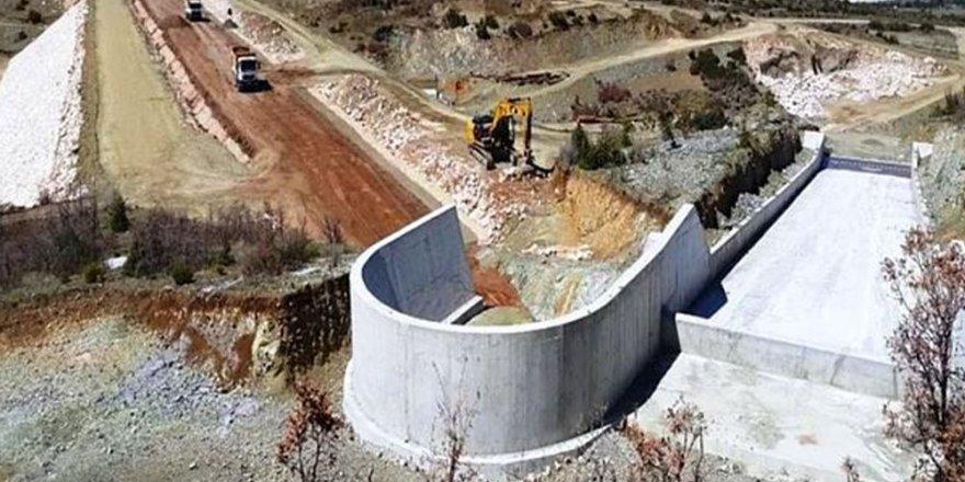 Mahkeme kararı gecikince gölet tamamlandı
