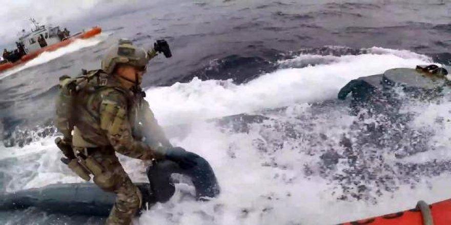 Okyanusun dibinde uyuşturucu operasyonu