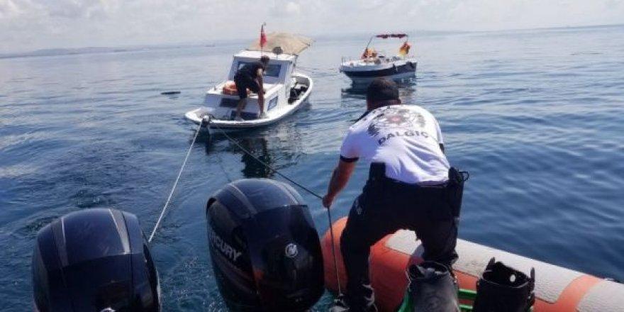 Deniz polisi zamana karşı yarıştı