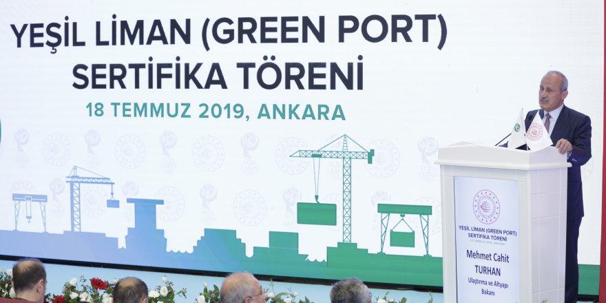 Çevre dostu limanlara sertifika