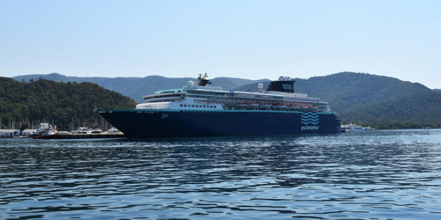 """Horizon"", Marmaris Cruise Port Limanı'na demirledi"