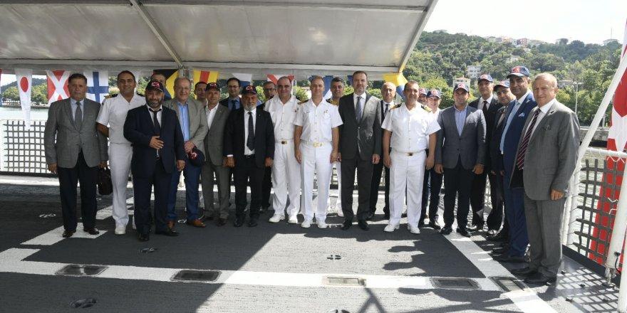 Sahil Güvenlik Komutanlığı, DTO yönetimini ağırladı