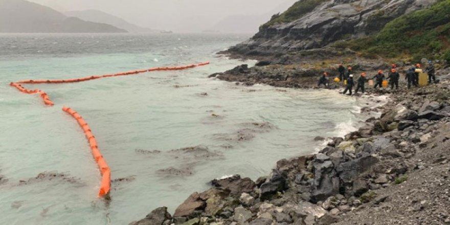 40 ton akaryakıt denize döküldü
