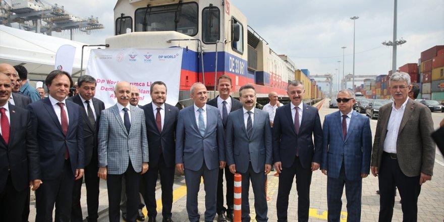 Turhan: 7 limana demiryolu bağlantısı sağlayacağız
