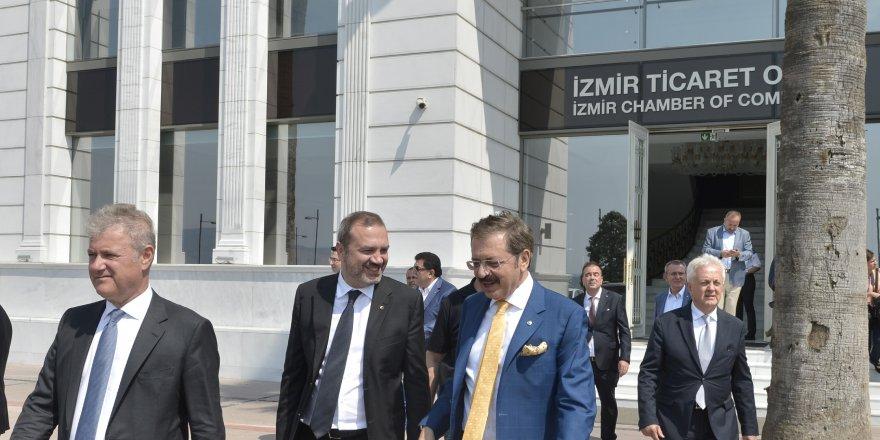 Hisarcıklıoğlu ve Kıran'dan İzmir çıkarması