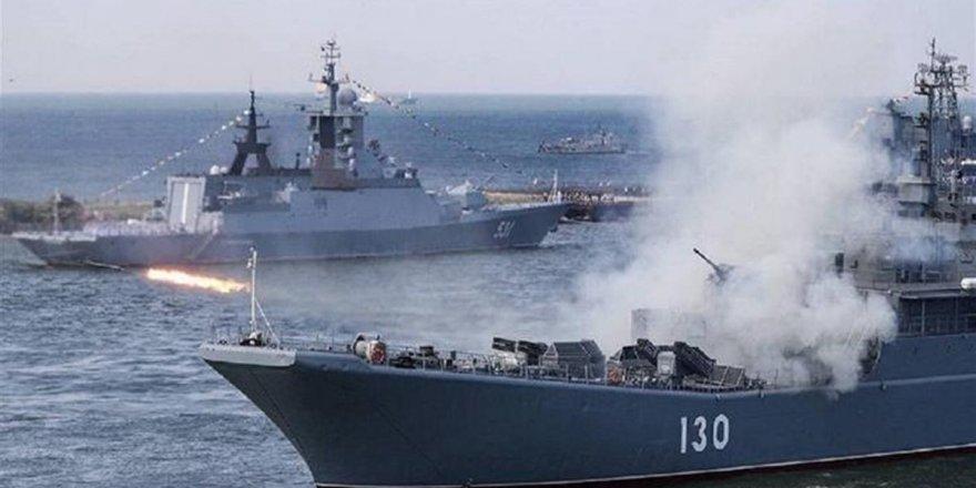 Rusya Baltık Denizi'nde tatbikat başlattı