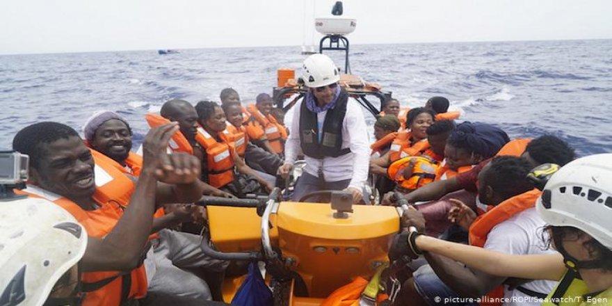Göçmen taşıyan gemilere 1 milyon euro ceza