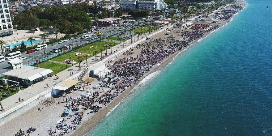 """""""Konyaaltı'nda güvenle denize girilebilir"""""""