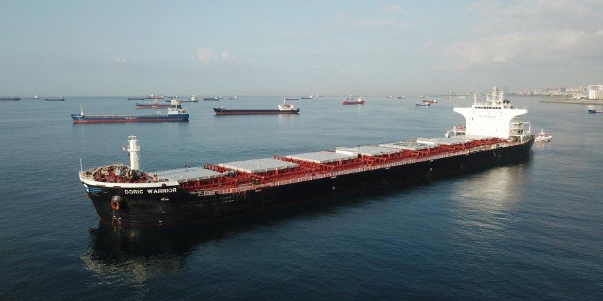 Ahırkapı'da çatışan gemiler görüntülendi