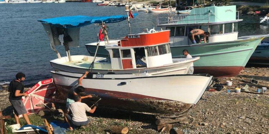 Balıkçılar yeni 1 Eylül'e hazırlanıyorlar