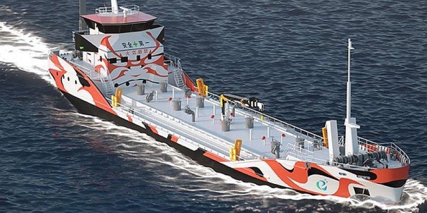 Japonya'dan sıfır emisyonlu tanker