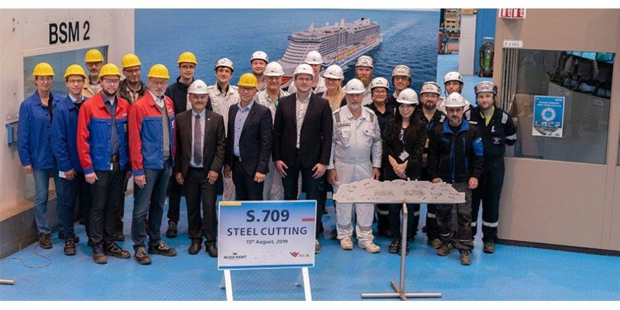AIDA Cruises LNG destekli kruvaziyerlere yöneldi