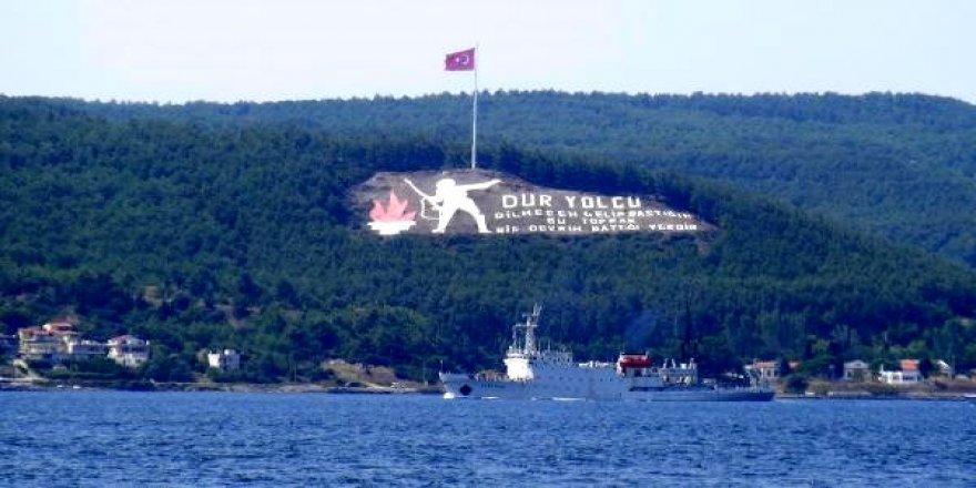 Rus istihbarat gemisi Akdeniz'e gidiyor