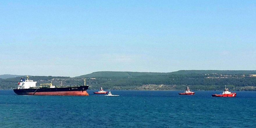 Çanakkale Boğazında 2 gemi çarpıştı