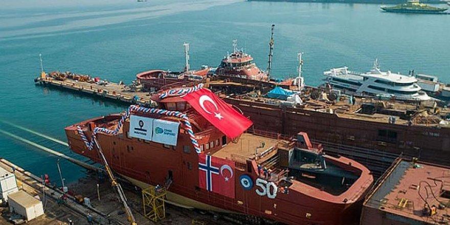 Cemre Tersanesi'nden Norveç'e 50'nci gemi
