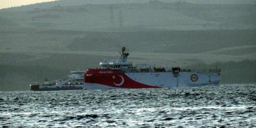Oruç Reis gemisi de Doğu Akdeniz'e gitti