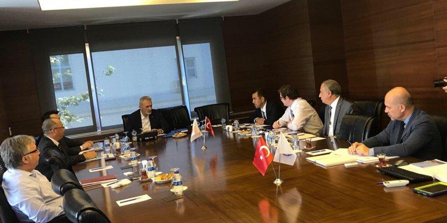 DTO'da Japonlarla kredi toplantısı