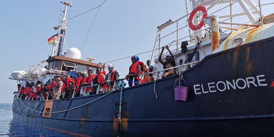 Eleonore gemisine İtalya'dan müdahale
