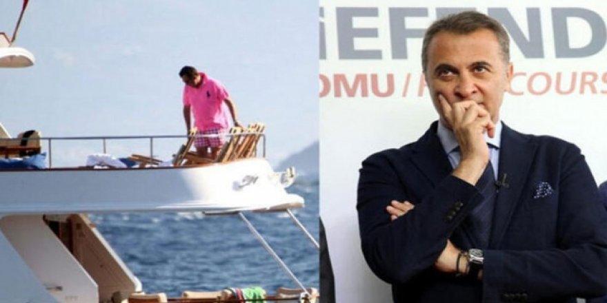 Beşiktaş Başkanı Orman'ın teknesini çaldılar