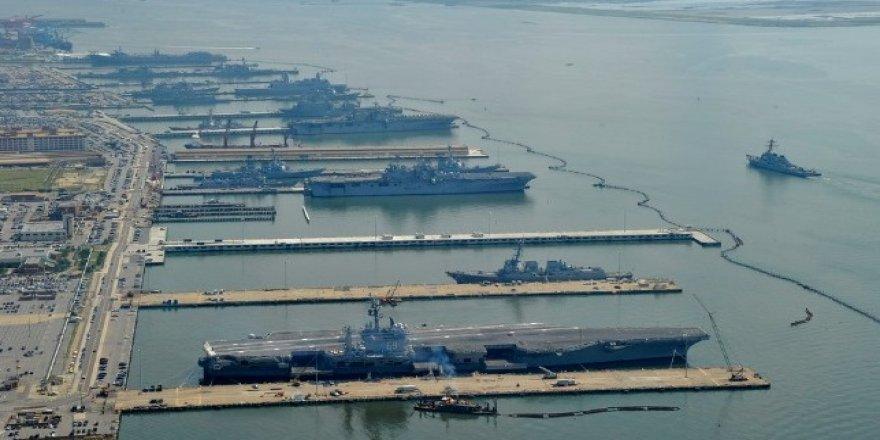 ABD donanmasında Dorian Kasırgası alarmı