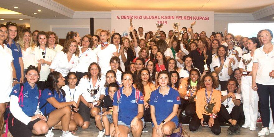 Deniz Kızı Ulusal Kadın Yelken Kupası'nın sahibi belli oldu