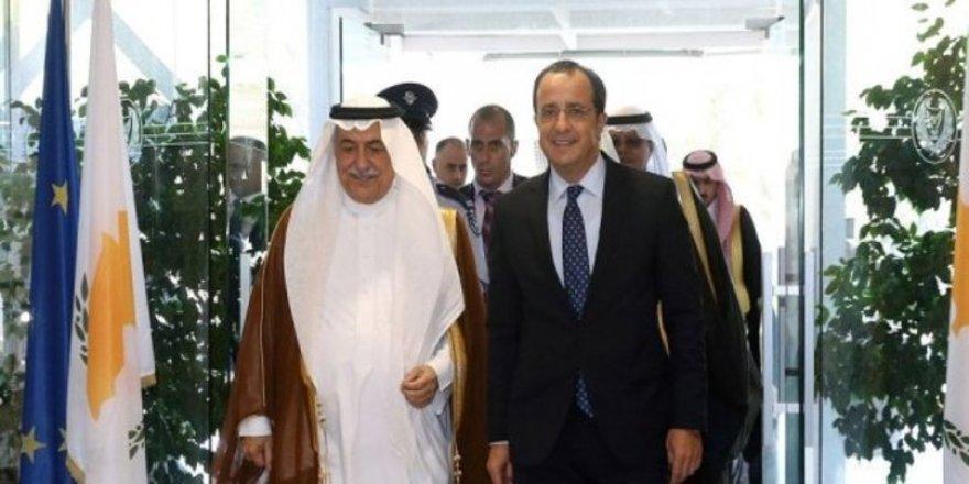 Suudiler'den, Türkiye karşı Rumlara destek