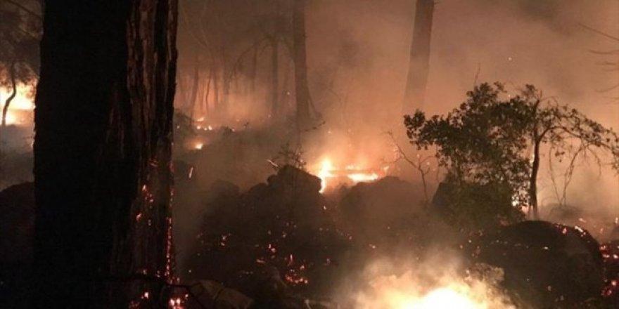 Muğla'da yat yangını