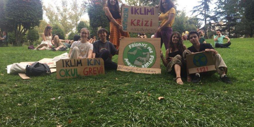 Kadıköy'de küresel iklim eylemi