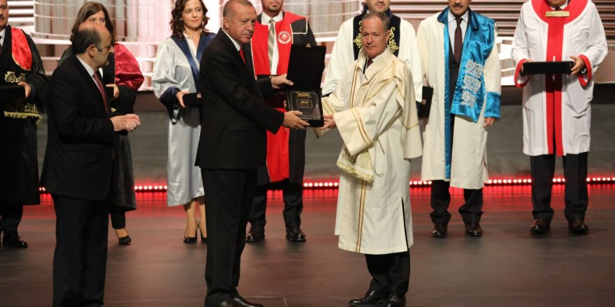 PRÜ'ye 'Uluslararası İşbirliği Üstün Başarı' ödülü