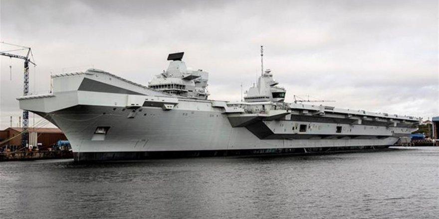 HMS Prince of Wales ilk seferine çıktı