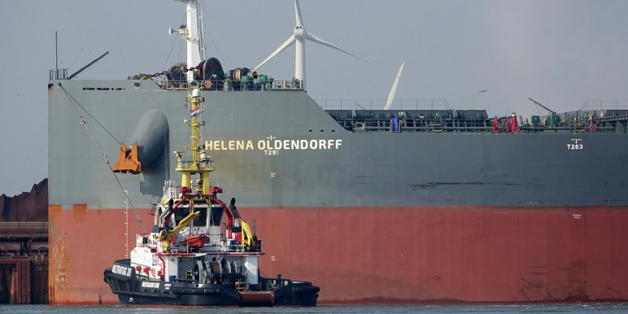 Oldendorff gemisi faciadan döndü