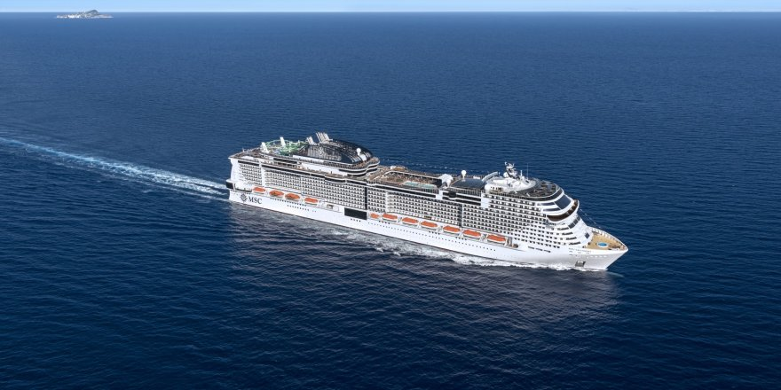 MSC'nin en çevreci gemisi MSC Grandiosa