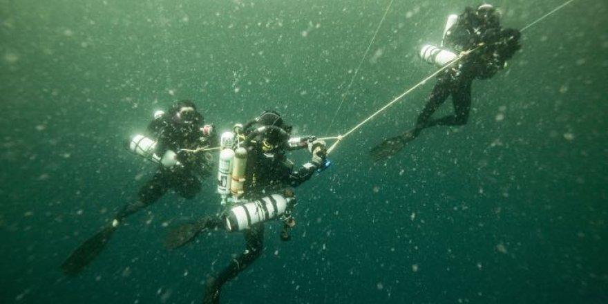 Amazon Resifi'ne ilk insan dalışı