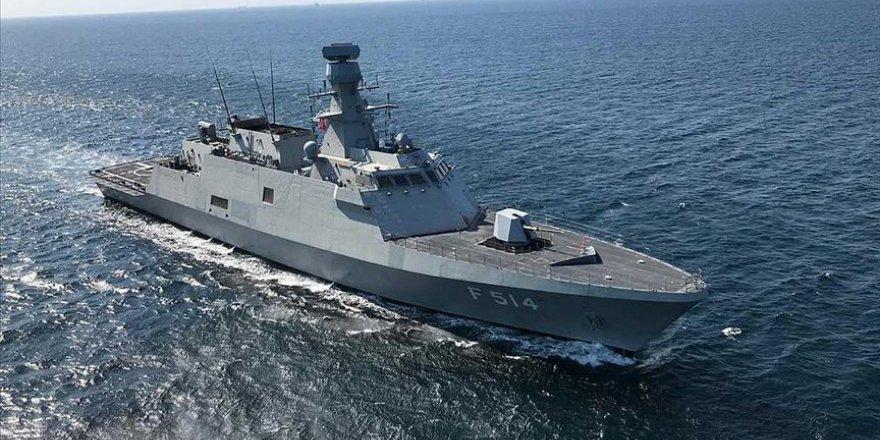 TCG Kınalıada Deniz Kuvvetleri'ne teslim ediliyor
